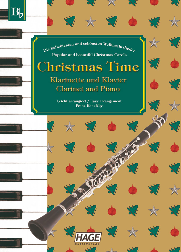Christmas Time for clarinet and piano