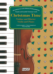 Christmas Time for violin and piano Pages 1