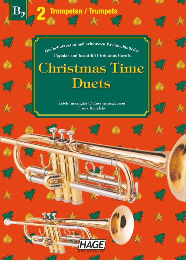 Christmas Time Duets for 2 trumpets