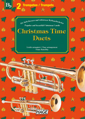 Christmas Time Duets for 2 trumpets Pages 1