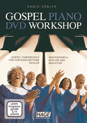 Gospel Piano DVD Workshop Seiten 1