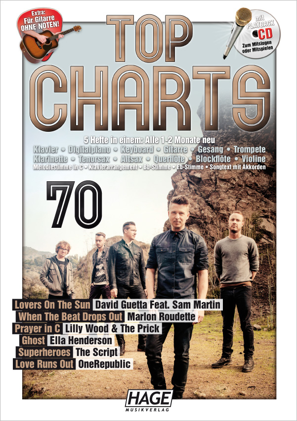 Top Charts 70 (mit CD)