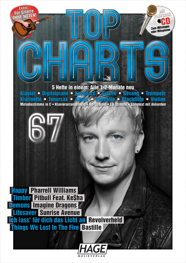 Top Charts 67 (mit CD)