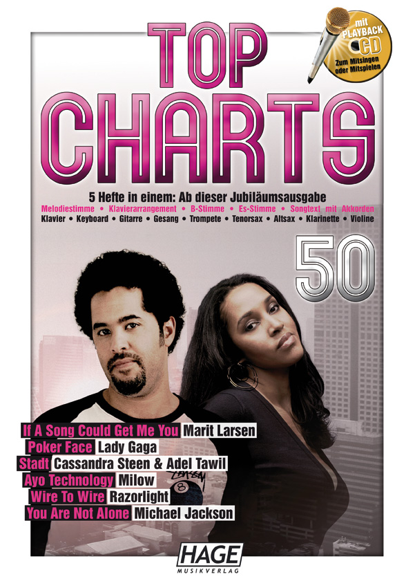 Top Charts 50 (mit CD)