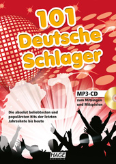 101 Deutsche Schlager (with MP3-CD)