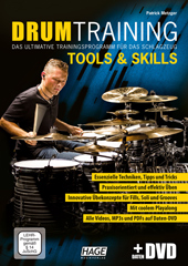 Drum Training Tools & Skills (with Data-DVD)
