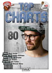 Top Charts 80 (mit CD + Midifiles, USB-Stick)