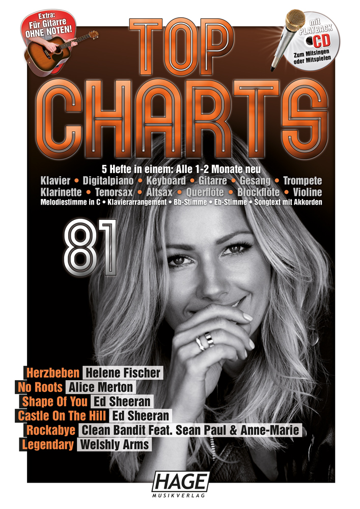 Top Charts 81 (mit CD)