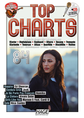 Top Charts 84 (mit CD + Midifiles, USB-Stick) Seiten 1