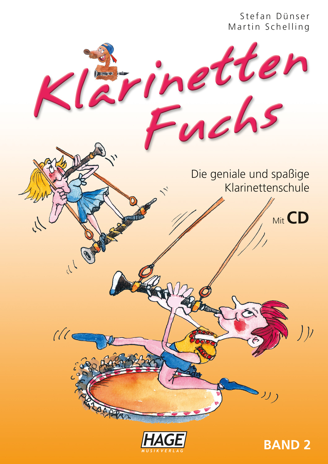 Klarinetten Fuchs Band 2 (mit CD)