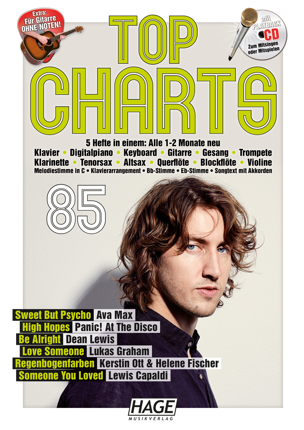 Top Charts 85 (mit CD)