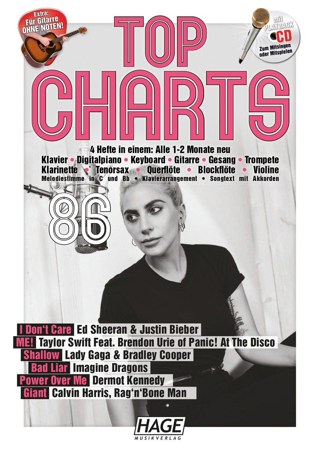 Top Charts 86 (with CD)