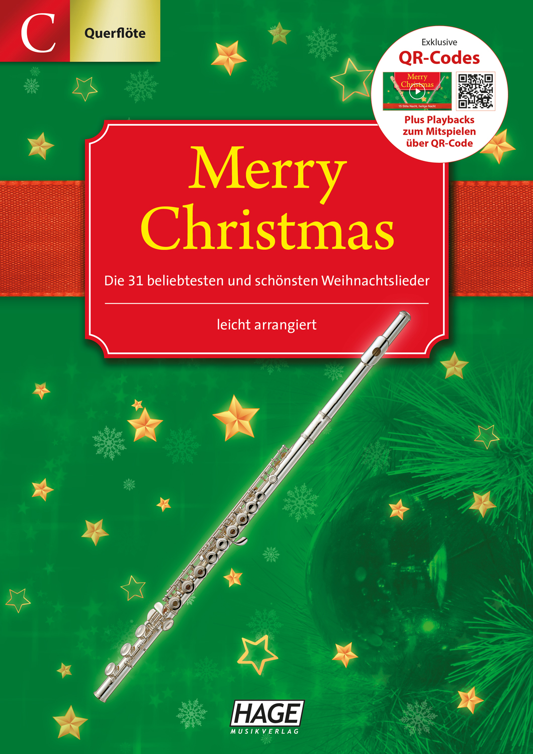 Merry Christmas for C-instruments (flute, oboe) Pages 1