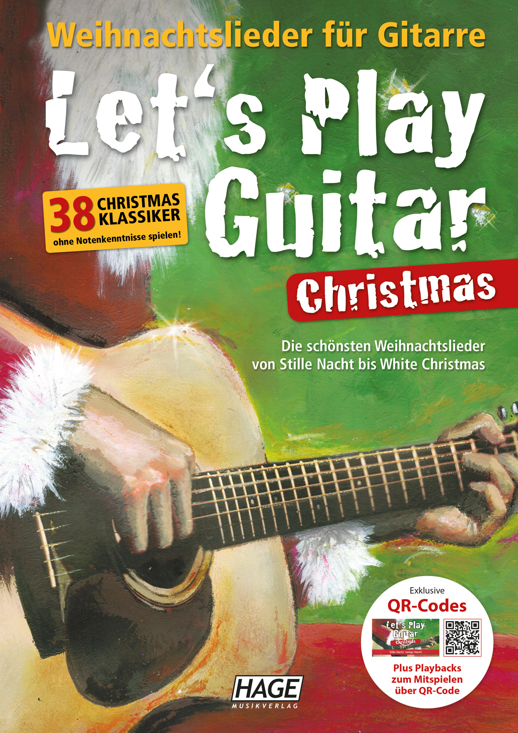 Let's Play Guitar Christmas (mit QR-Codes)